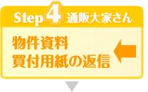 Step4:物件資料と買付用紙の返信